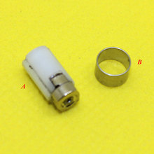 10PCS 2 Color,For Nintendo DS Lite NDSL Rotate Spin Axis Barrel Hinge Repair part Used