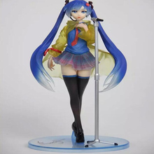 Japan Hatsune Miku rain figure miku Song Rain sound action movable model figure boxed doll free shipping T7052
