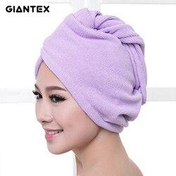 GIANTEX женские полотенца для ванной из микрофибры полотенце для волос банные полотенца для взрослых toallas servette de bain recznik handdoeken