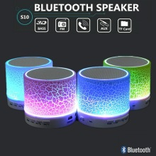 LED Portable Mini Bluetooth Speakers Wireless Hands Free Speaker With TF USB FM Mic Blutooth Music Soundbar Sound Bar Box