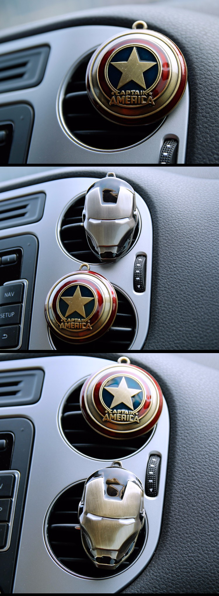 Auto car air outlet conditioning vent perfume