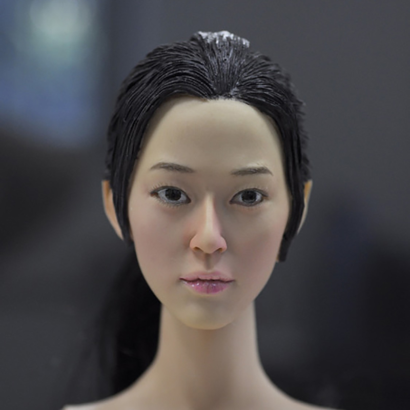 KUMIK 15-24 1/6 Scale Soldiers accessories female head sculpt Carving Model Fit 12 inch Phicen Action Figure<br>