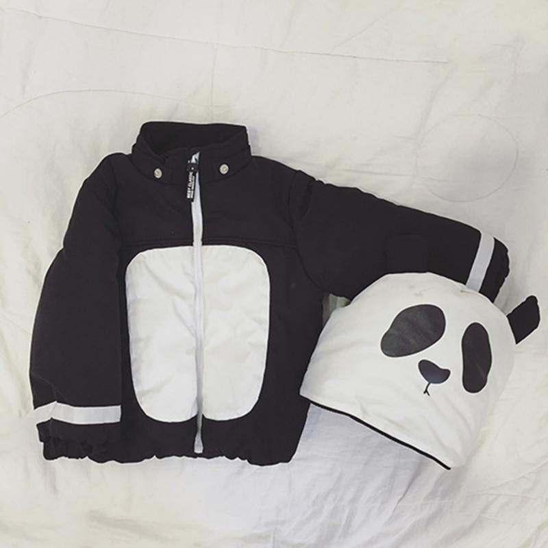 Childrens Winter Jackets girls Snow Coat Boys panda coat hooded Outerwear thick Parkas Baby Overcoat Enfant Brand JacketОдежда и ак�е��уары<br><br><br>Aliexpress