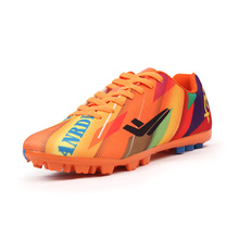 2016 Football Trainers TF Men Orange Football Turf Shoes Blue Mens Cleats Football Winter Turf Soccer Cleats Boys Boots Soccer