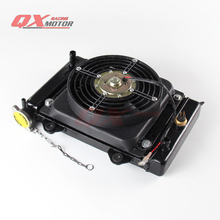 150cc 200cc 250cc zongshen loncin lifan motorcycle water cooled engine radiator xmotos apollo water box with fan accessories(China)