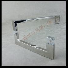 Ke resistant imported stainless steel mirror 304 shower room glass door handle type bathroom handle length(China)