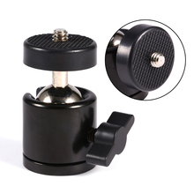 "Mini Tripod Ball Head Ballhead+1/4""Screw Mount Stand 360 Swivel DSLR DV Camera DSLR Camera Accessories"