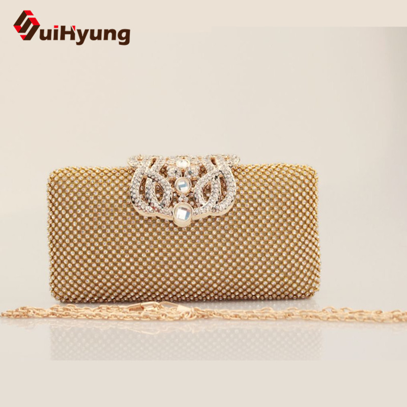 Lowest Price Womens Diamond Clutch Bags Fashion Design Party Evening Bags Wedding Small Clutch Purse Female Chain Shoulder Bags<br><br>Aliexpress