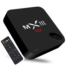 MXIII - G II 2G 16G TV Box S912 Octa Core Android 6.0 BT 4.0 2.4G + 5.8G Dual-band WiFi 1000Mbps RJ45 Port HD Media Player