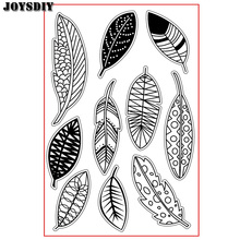 VARIOUS CUTE FEATHERS LEAVES Scrapbook DIY photo cards account rubber stamp clear stamp transparent stamp Handmade card stamp(China)