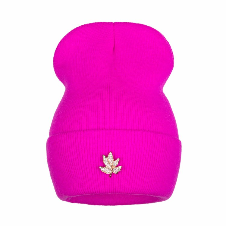 Ralferty Casual Crystal Leaf Beanie Winter Hats For Women Skullies Caps Female Chapeu Toca bonne gorras bonnet Cap Men Snowboard 11