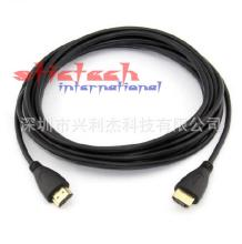 by dhl or ems 50 pieces high quality 10M Gold Plated Connection Male-Male HDMI Cable V1.4 HD 1080P for LCD DVD HDTV XBOX PS3