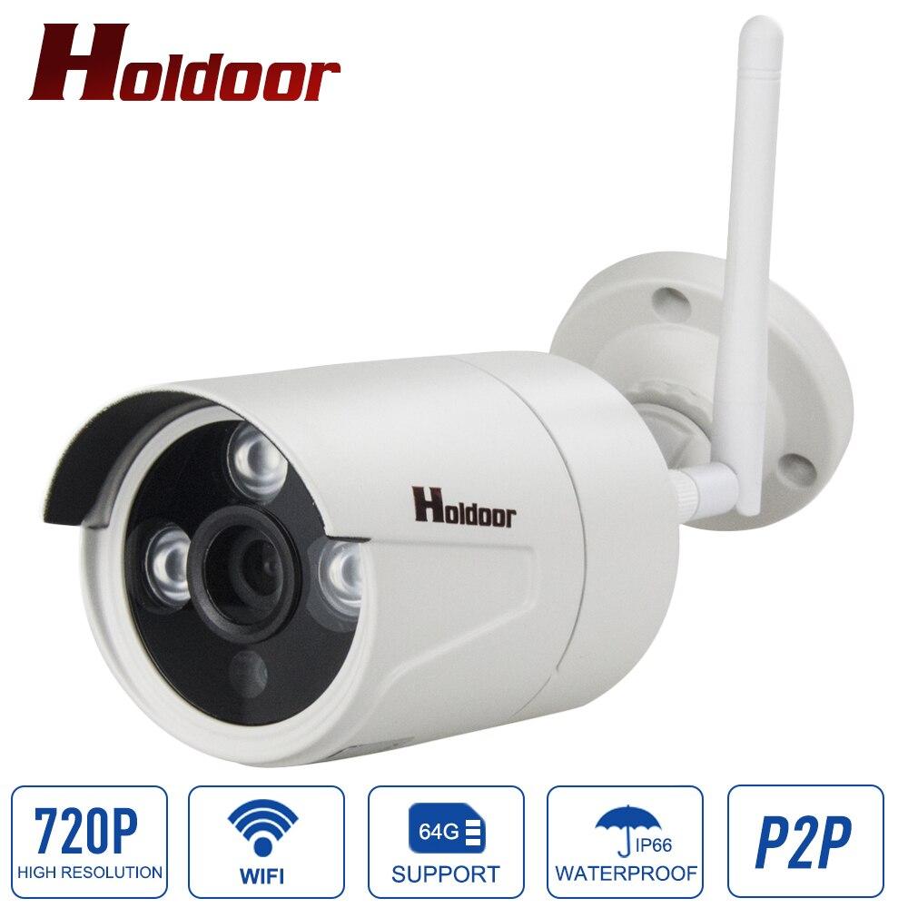 1MP HD IP camera Wireless outdoor waterproof  IP66 720P security CCTV cameras wifi IR CUT mini Onvif H.264 IR Night Vision Cam <br>