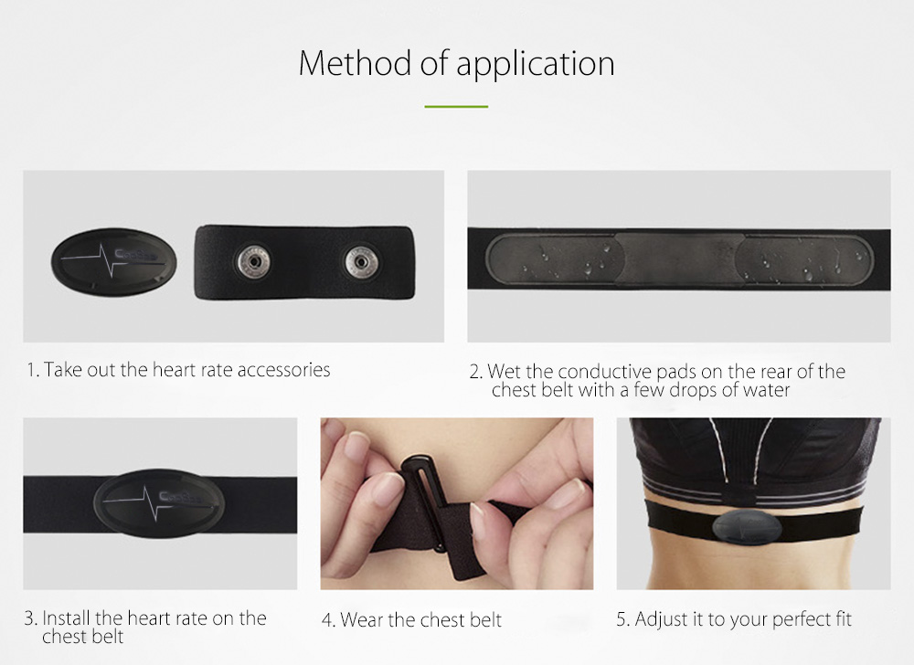 Chest Strap Heart Rate Monitor 12
