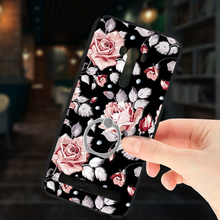 For Asus zenfone Selfie ZD551KL Luxury Frosted Rose Cover Relief Case 360 Full Protection Fundas Phone For Asus Z00UD(China)