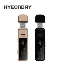 Digital Voice Recorder USB Flash Dictaphone K30 HYEONDAY Audio Recorders MP3 Player Noise Reduction Sound record Lossless Voice(China)