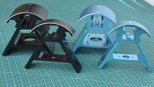 A 3D printer parts for European standard 2020 profiles, Kossel800 metal corner pieces, six sets