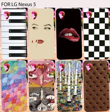 Colorful Soft TPU Phone Cases LG Google Nexus 5 D820 D821 E980 Nexus5 Back Cover Shield Protector Skin Shell Housings Hoods - TAOYUNXI Official Store store