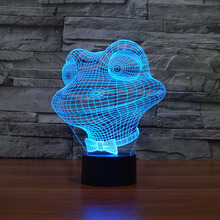 Color Changing  Cartoon Frog  Night Light Indoor 3D led bulb USB Novelty Light Etsy  For gifts