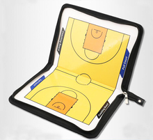 High Quality  PVC Plastic Cover Marker Magnetic Chess Pieces Basketball Match Tactical Plate Foldable Coach Board With Pen