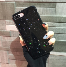 Kerzzil Bling Glitter Soft Silicone Case For iPhone 7 6 6S Plus Cute Star Cover Shining Phone Case For iPhone 6 7 6S Coque