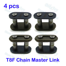 4pcs/pack T8F Chain Spare Master Link For 2 Stroke 43cc 47cc 49cc Mini ATV Quad Dirt Super Pocket Bike Motorcycle
