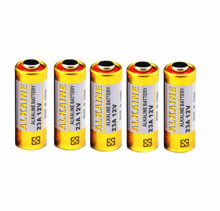 5PCS 23A 12V dry alkaline battery 23AE 21/23 A23 23GA MN21 for doorbell,car alarm,walkman,car remote control etc(China)