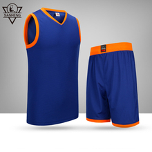 SANHENG Men's Basketball Jersey Short Competition Uniforms Suits Breathable Sports Clothes Sets Custom Basketball Jerseys 912109(China)