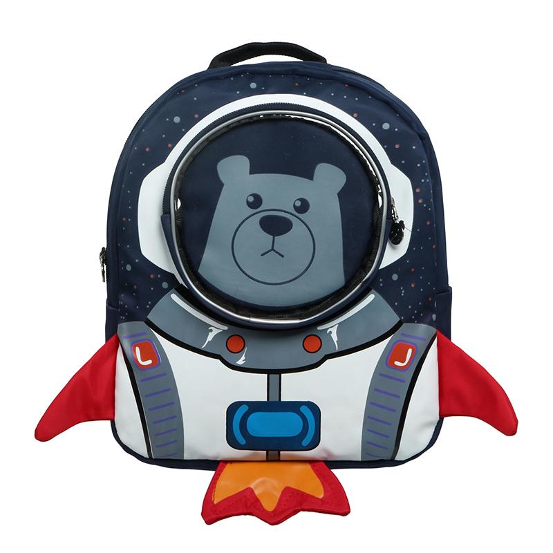 Astronaut Bear For Girls and Boys School Bag Cartoon Children Backpack Kids  Bag Kindergarten Backpack Mochila Escolar Infantil efdc642c04