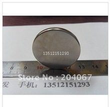 N35 NdFeB strong magnet permanent magnet strong magnetic magnets size 30mm x 3mm circle 10pcs/lot(China)
