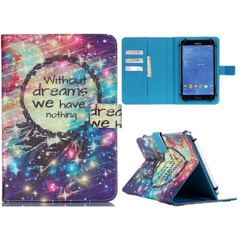 Wallet Universal10 inch Tablet PU Leather Case Stand Cover For ARCHOS 101 Neon101 Xenon101 XS 2 10.1 For Android Cases S5C53D (10)