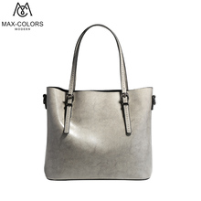 MC Fashion Women Cow Leather Handbag Lady Luxury Leather Bag Shopping Bag 2017 New Arrival Female Solid Cause Tote(China)