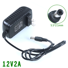 12v2a switching power supply LED lamp 12 v adapter 12v 2a router US EU UK AU plug - Shop2963249 Store store