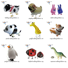1000pcs/lot walking pet balloon helium balloon walking balloon mix order DHL or Fedex express delivery
