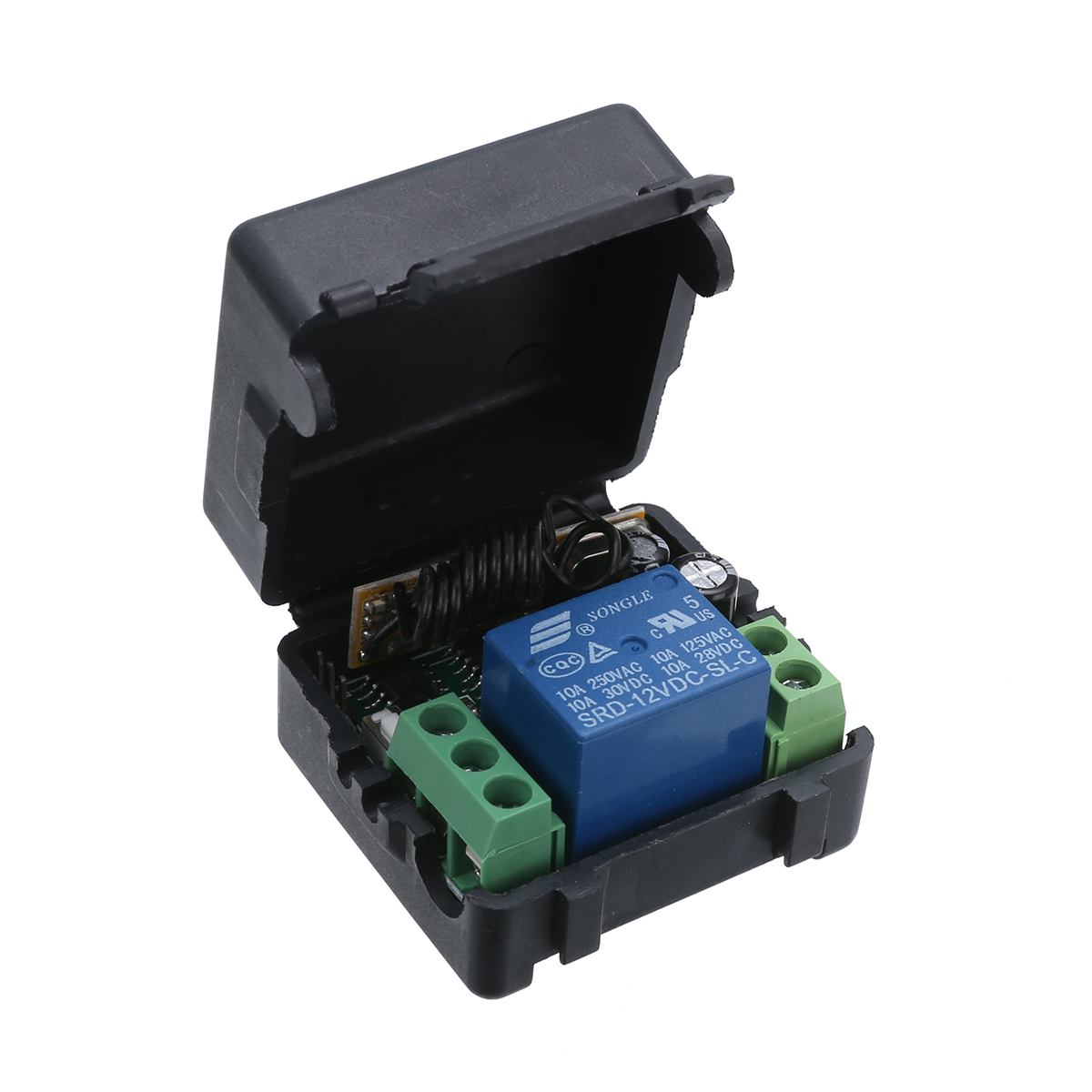 Mayitr 1pc DC 12V 2CH Wireless Remote Control 315MHZ Professional Radio Relay Switch Transceiver Receiver Kits