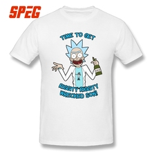 T Shirts Rick Cartoon Funny Wuba Riggity Dab on Them Folk Cam Newton T-Shirt Drunk Rick and Morty Men Cotton Men Tee Shirts