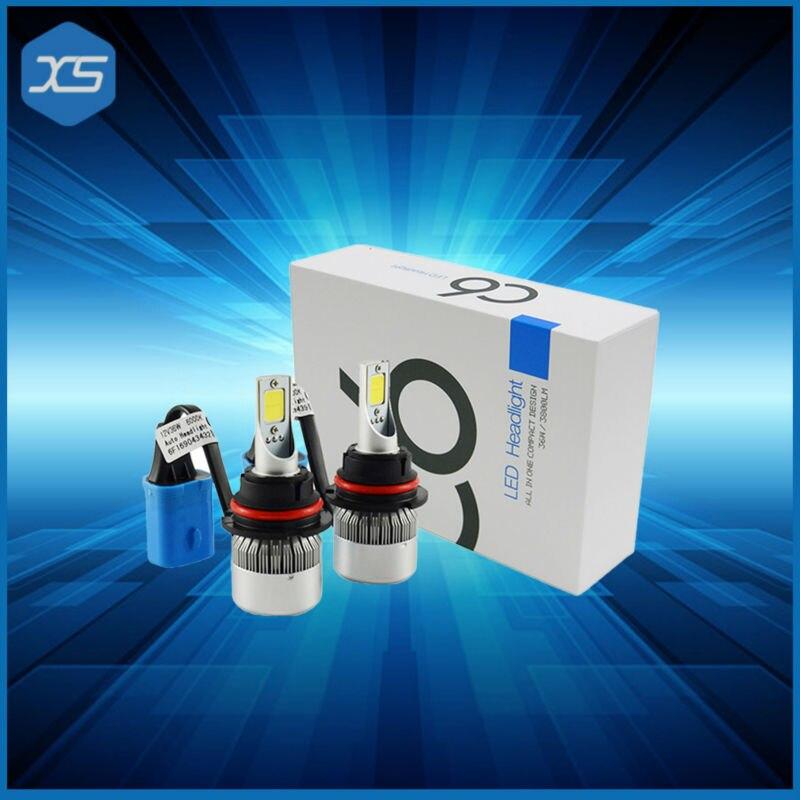 Wholesale C6 led headlight H7 9005 9006 H1 led headlight for used cars super white 6000K,h1 led headlight<br><br>Aliexpress