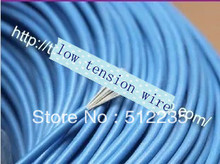 Low tension wire 1 meter installation material CO2 laser tube  laser engraving / cutting machine accessories