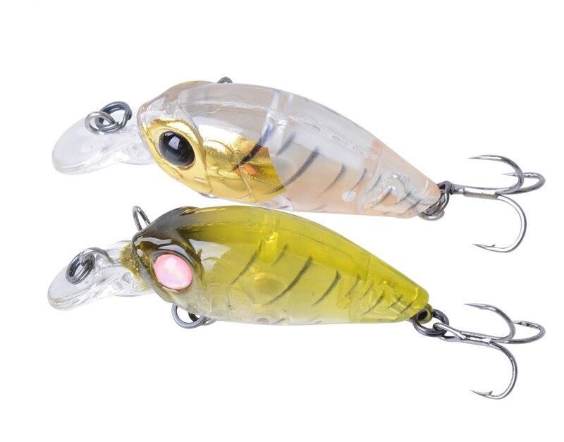 New arrived 9 PCS MINI Crank lure bait Short tongue Semitransparent rock lure 4.6cm 3.5g bionic bait fishing hard bait full set<br><br>Aliexpress