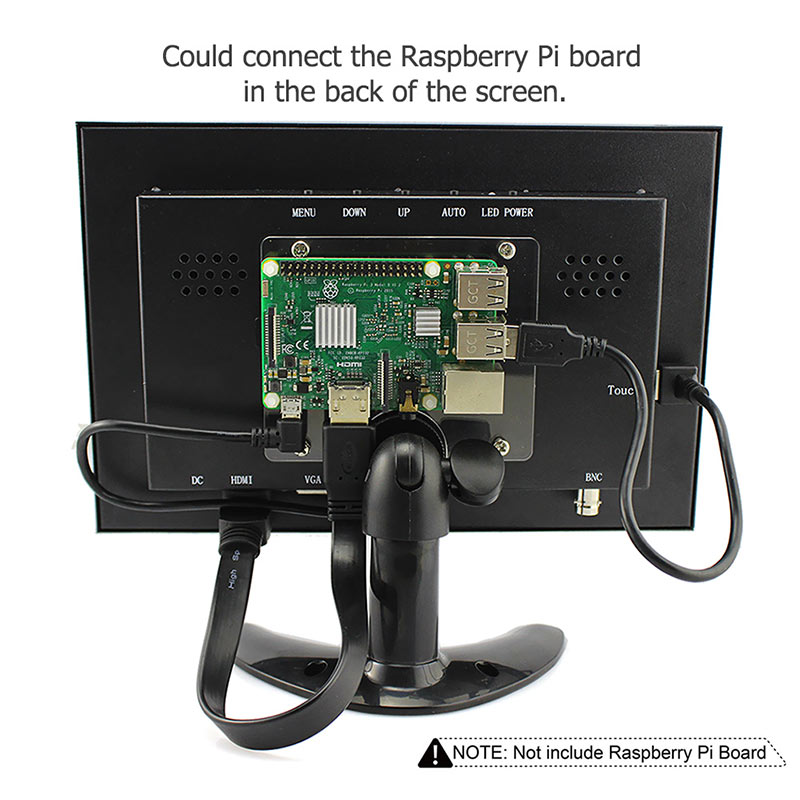 Raspberry Pi 3 Display 10.1 Inch (7)