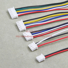 Mini Micro XH2.54 JST 2.54mm Pitch 2Pin 3Pin 4Pin 5Pin 6Pin Connector with 1007 26AWG Electronic Wire Cable(China)