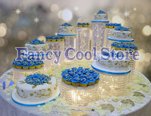 11pcs/lot wedding party & event centerpiece cake accessory decoration Free shipping birthday cake tools cupcake Display rack