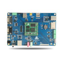 The ATMEL AT91SAM9G45 core board ARM9 Industrial Ethernet cards / SCM / Linux development board