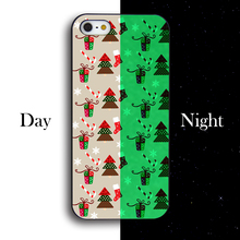 Christmas tree Christmas socks Case For iPhone 4 4s 5 5s 5c se 6 6s 6plus 6splus 7 7plus Case Hard PC Phone Case cover