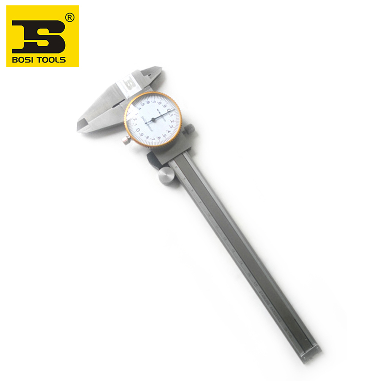 Free Shipping BOSI 0-150mm open-eng dial calipers<br>
