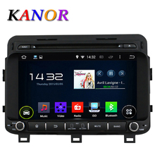 KANOR Quad Core Android 5.11 Car DVD Cassette Player For KIA K5 2015 1024*600 Capacitive Touchscreen GPS Autoradio Audio Stereo(China)