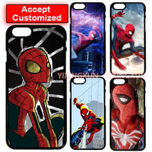 Super Hero Spider Man Case Cover for LG G2 G3 G4 G5 G6 iPhone 4 4S 5 5S SE 5C 6 6S 7 8 Plus X iPod Touch 5(China)