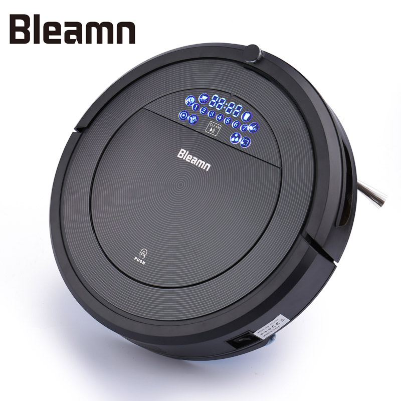Bleamn B-Q85 Robot Vacuum Cleaner SelfCharge Remote Control Time Schedule Powerful Suction Sweeping Mopping Vacuuming for Carpet(China)