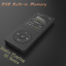 "New 8GB mp4 80 Hours Music playing lossless MP4 player 1.8"" TFT screen MP4 with E-book video photo FM radio voice recorder Clock(China)"