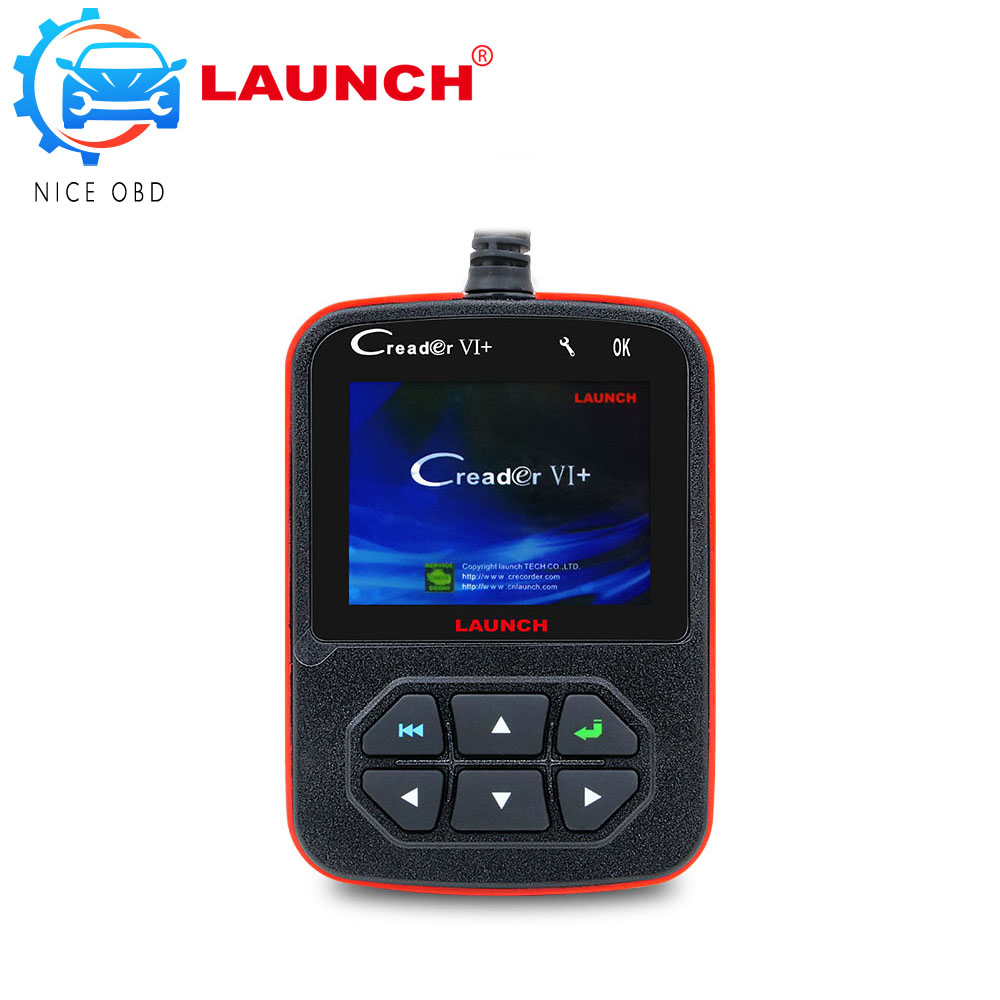 LAUNCH X431 OBD2 Creader V+ Code reader Launch Creader V + OBD II Auto Diagnostic Tool free Update Online(China (Mainland))